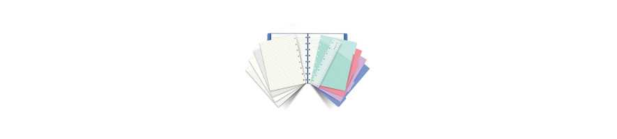 Smarte Filofax Notesbøger med flytbare sider - Køb online i dag.